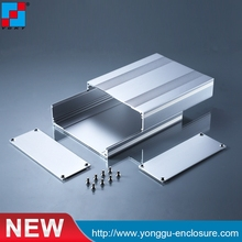 New arrival YGS-037 142*53.5-170mm (WxH-L) aluminum extrusion cnc anodizing diy case laser cutting new design