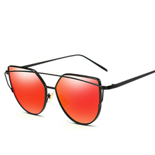 Vintage Fashion Rose Gold Mirror Sun Glasses