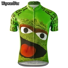 c902a7552 2018 green Jerseys NEW Summer Men s Monster Cycling jersey Eat Cycling  Clothes Wear Bike Clothes Bicycle