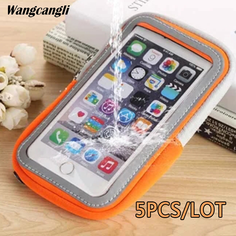 Friendly 5pcs/lot Running Armband For Iphone 7 Plus Belt Bag For Xiaomi Redmi 4x 5plus 2018 For Iphone 6 Case Bags Capa Universal Sports Mobile Phone Accessories