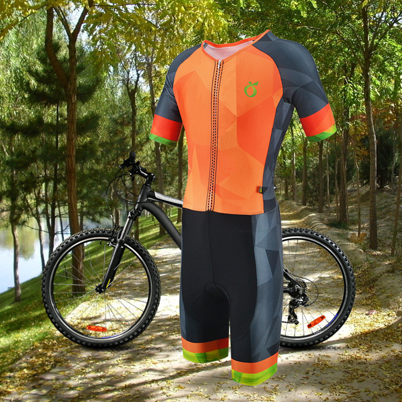 EMONDER 2018 Men's Summer Jumpsuit Triathlon Cycling Jersey Sports Cycling Skinsuit High Quality Pro team Sports Clothing