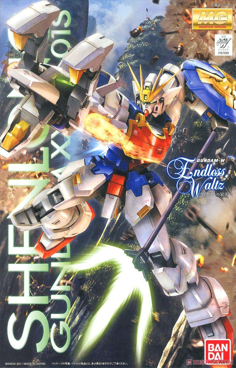 Bandai Gundam MG 1 100 Shenlong Mobile Suit Assemble Model Kits Action Figures Plastic Model Toys
