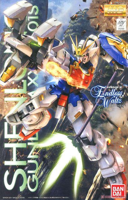 Bandai Gundam MG 1/100 Shenlong Mobile Suit Assemble Model Kits Action Figures Plastic Model Toys