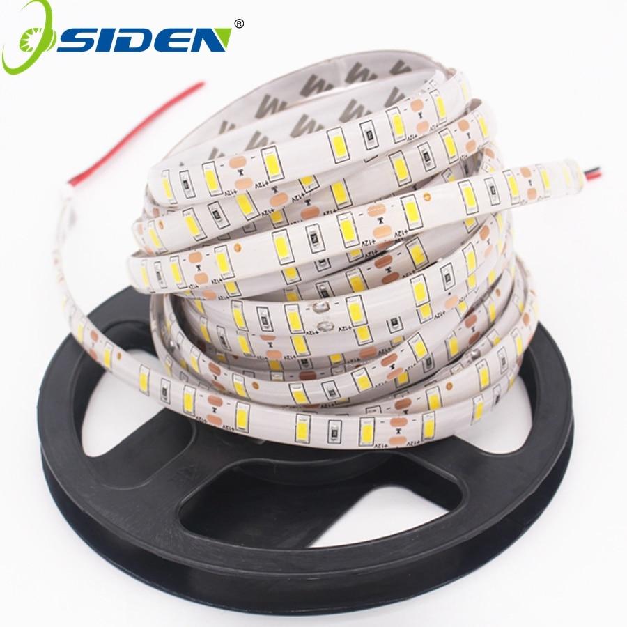 OSIDEN DC12V 5630 LED Strip Light 5m/roll 300led 5730 Flexible Bar Light Non-waterproof /Waterproof Indoor Home Decoration Light