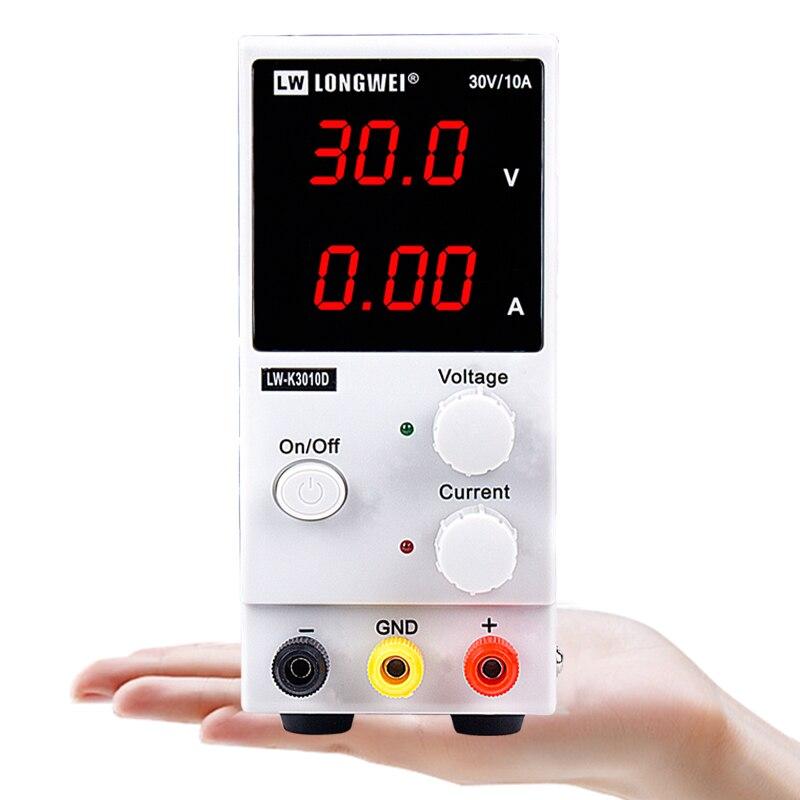 Lw-k3010d laboratoire commutation réglable alimentation alimentation laboratoire alimentation 30v 10a pour 110/220v banc source numérique