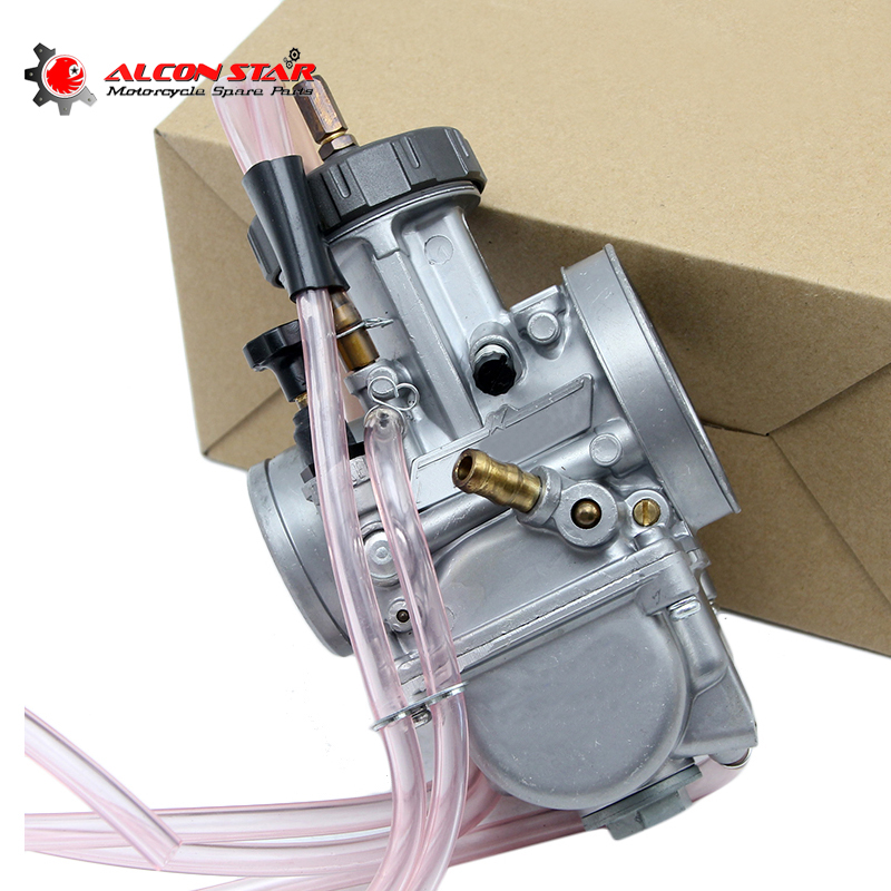 Alconstar Motorcycle 33 34 35 36 38 40 42mm PWK KEIHIN Carburetor Universal Used 4T Engine Scooter Motobike Motocross ATV Racing-in Carburetor from Automobiles & Motorcycles    1