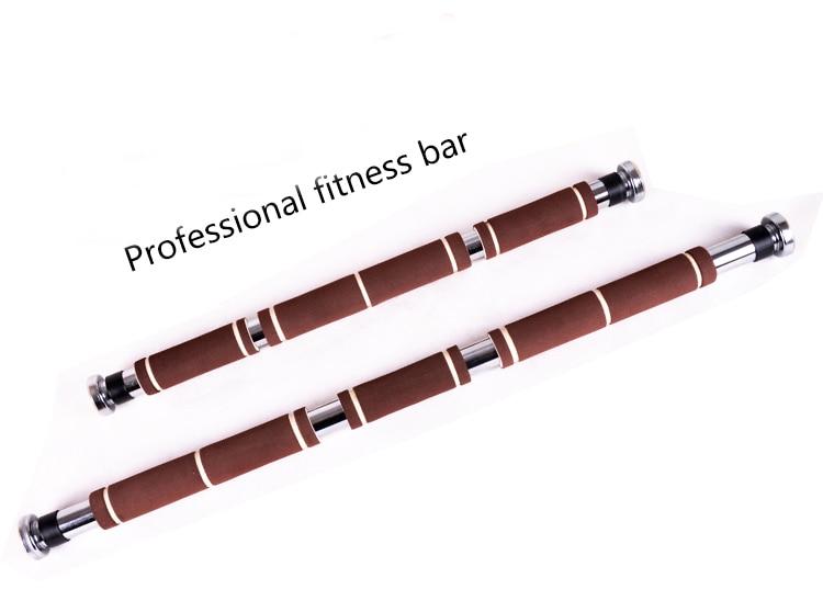 100 150cm length Adjustable fitness bar Multipurpose Door Horizontal Bar with Non slip foam