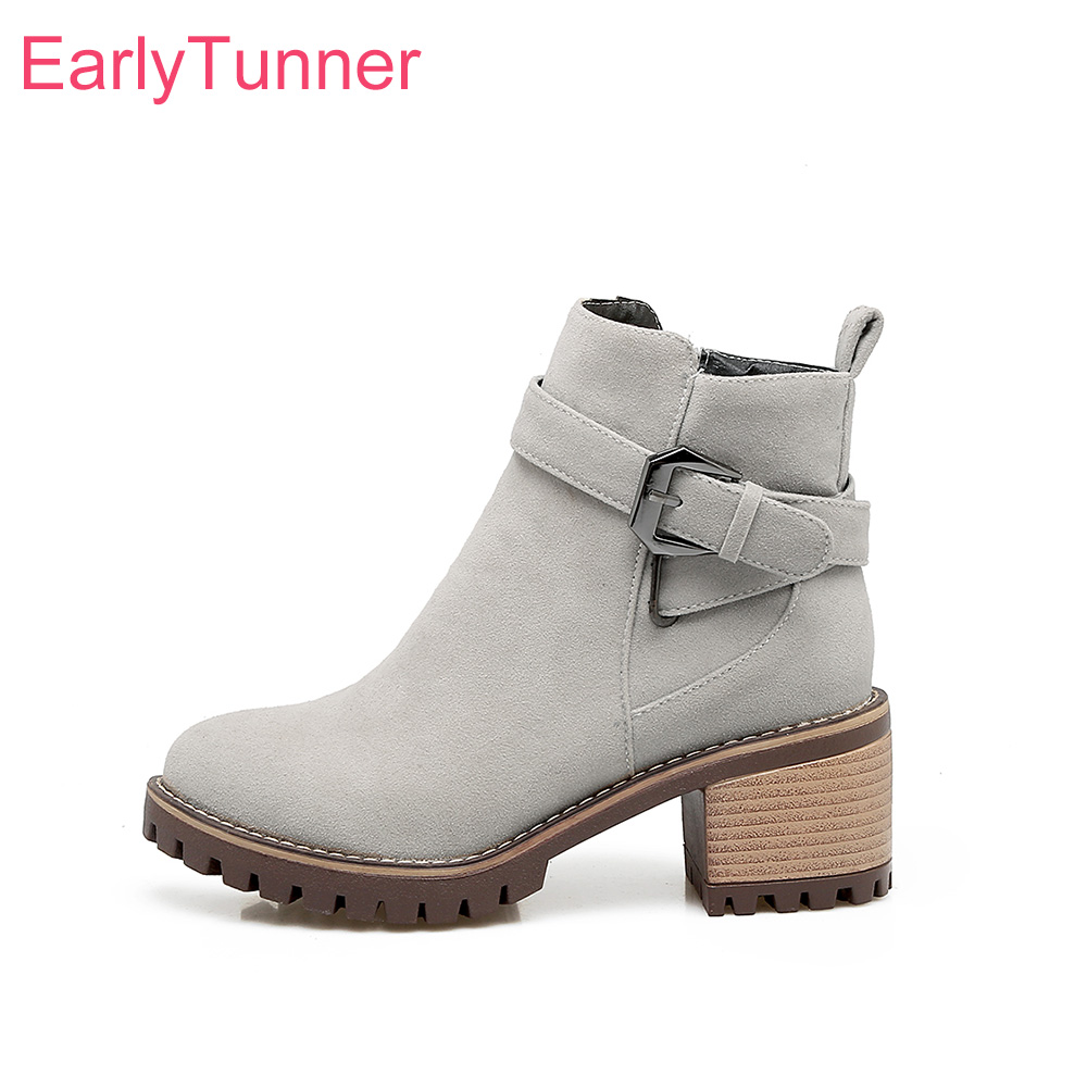Brand New Hot Winter Black Yellow Women Combat Ankle Boots Fashion Gray Lady Riding Shoes High Heel EV53 Plus Big Size 10 33 43Brand New Hot Winter Black Yellow Women Combat Ankle Boots Fashion Gray Lady Riding Shoes High Heel EV53 Plus Big Size 10 33 43