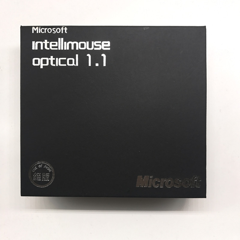 Wholesale IO1.1 USB Wired Gaming Mouse With Retail Box USB Wired Optical Microsoft IntelliMouse IO 1.1 Mouse