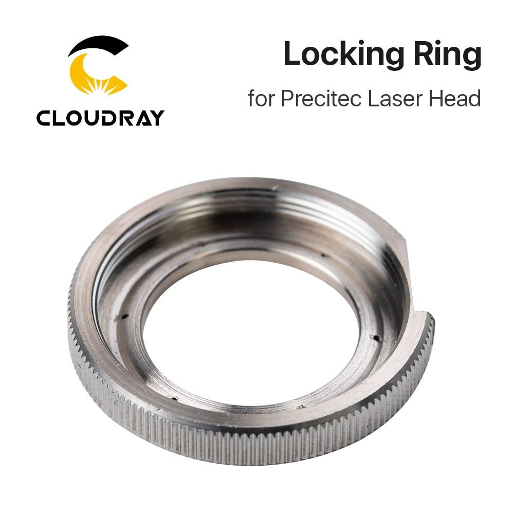 Cloudray Ceramic Lock Ring Nut Fiber Laser Head Parts Laser Nozzle Connector Fasten Ring Fiber Laser Raytools