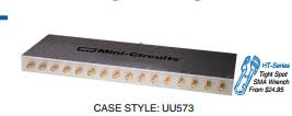 [BELLA] Mini-Circuits ZB16PD-72-S+ 400-700MHz Sixteen SMA Power Divider