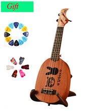 acústica 21 guitarra mogno