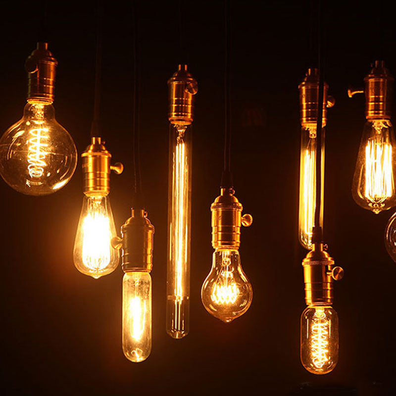 buy 110v edison light bulb vintage industrial retro lamp 40w lustre for living. Black Bedroom Furniture Sets. Home Design Ideas