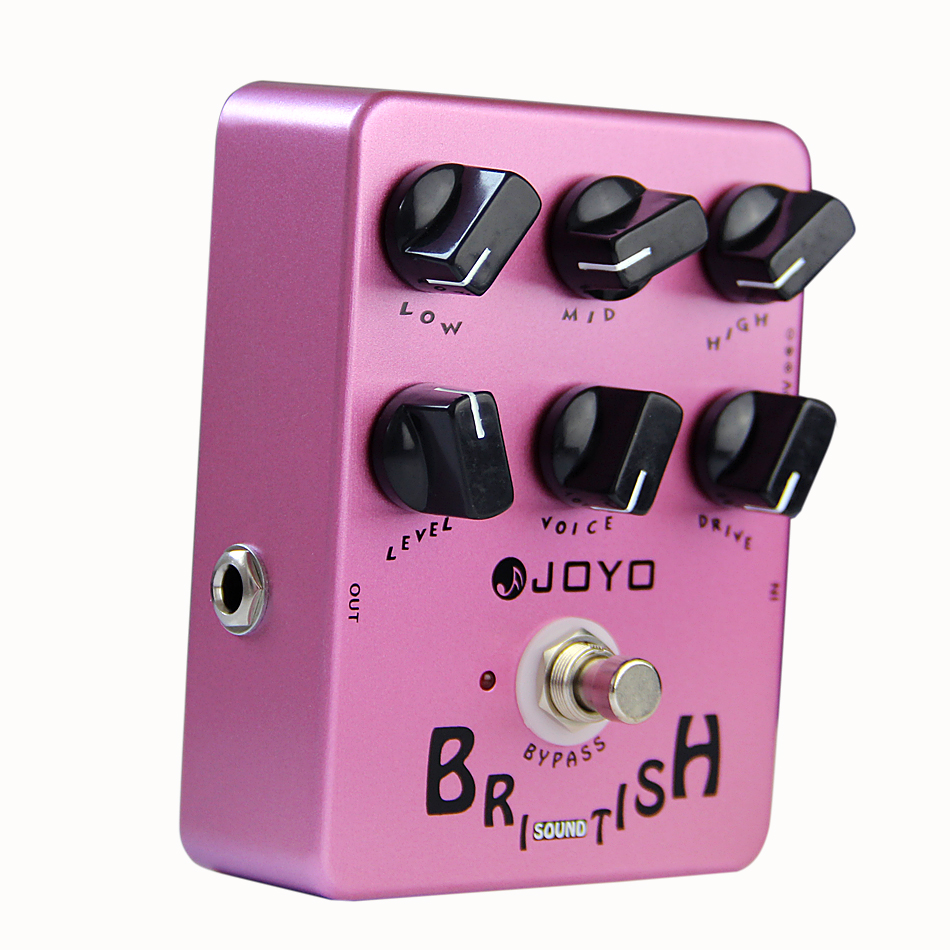 JOYO JF-16 British Sound Guitar Effect Pedal/ Amplifier Simulator Guitar Effect/Guitar Accessories aroma adr 3 dumbler amp simulator guitar effect pedal mini single pedals with true bypass aluminium alloy guitar accessories