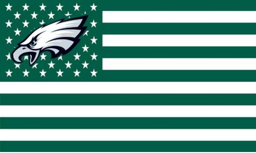 Us Flag Iphone Wallpaper Philadelphia Eagles Dark Green Flag With Star And Stripe