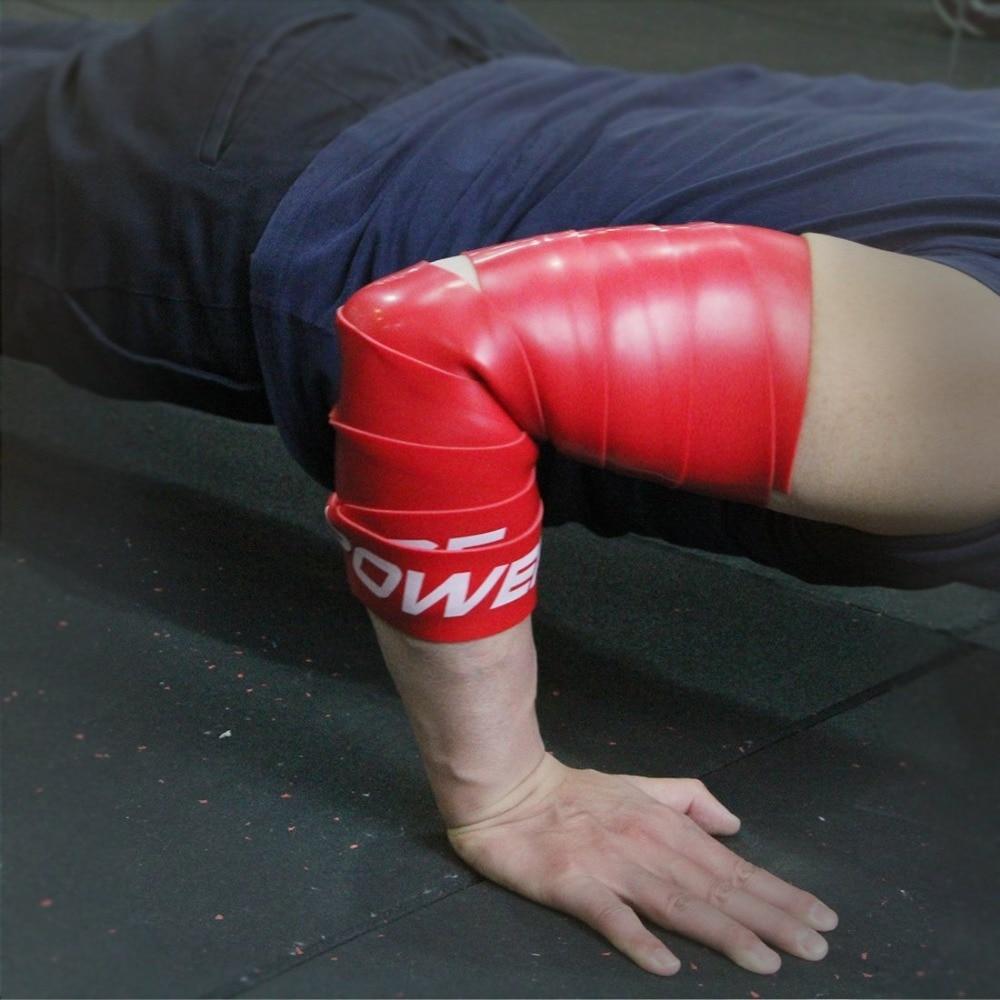 2 Stücke Kompression Muskel Floss Band Gummi Widerstand Band für - Fitness und Bodybuilding - Foto 5