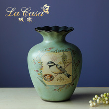 Q European antique style tabletop vases high-grade classic vases home decoration wedding gifts