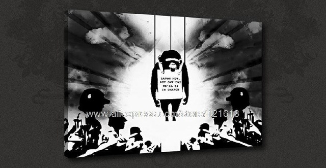 Banksy mood board black white graffiti art oil paintings canvas art pc painting wall art living