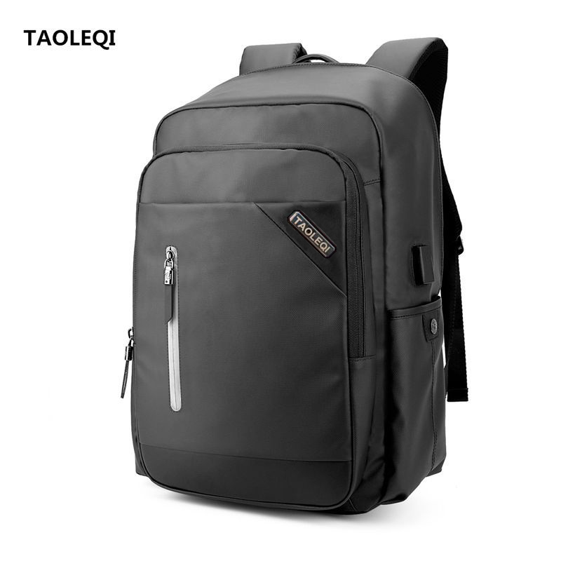 TAOLEQI Anti-thief Backpack USB Charge 15.6inch Laptop Backpack for Men School Backpack Bag Mochila Male Business Notebook Bag 14 15 15 6 inch flax linen laptop notebook backpack bags case school backpack for travel shopping climbing men women