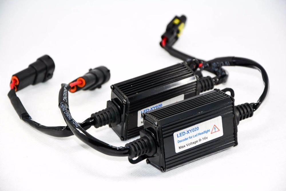 1 par H11 Automatski LED dioda za pretvorbu prednjih svjetala - Svjetla automobila - Foto 3