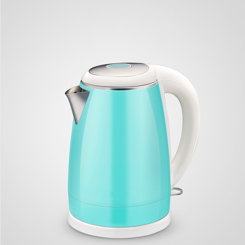лучшая цена Electric kettle 304 stainless steel food grade boiling water teapot household Safety Auto-Off Function