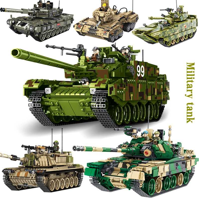 technology series truly change airport truck creator military tank fire warship set building blocks legoed brick toys for kid