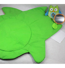 Movable Early Education Owl Mat Baby Crawling Mat Tummy Time Mat