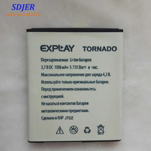 2019 New High Quality Battery For Explay TORNADO 1550mAh Mobile Phone Bateria Batterie Baterij Rechargeable Accumulator In Stock(China)