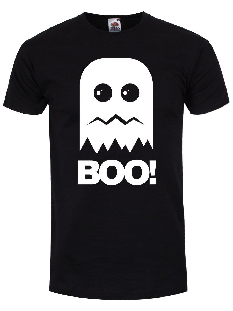 New Boo! Ghost Black 2018 Summer T-Shirts For Men