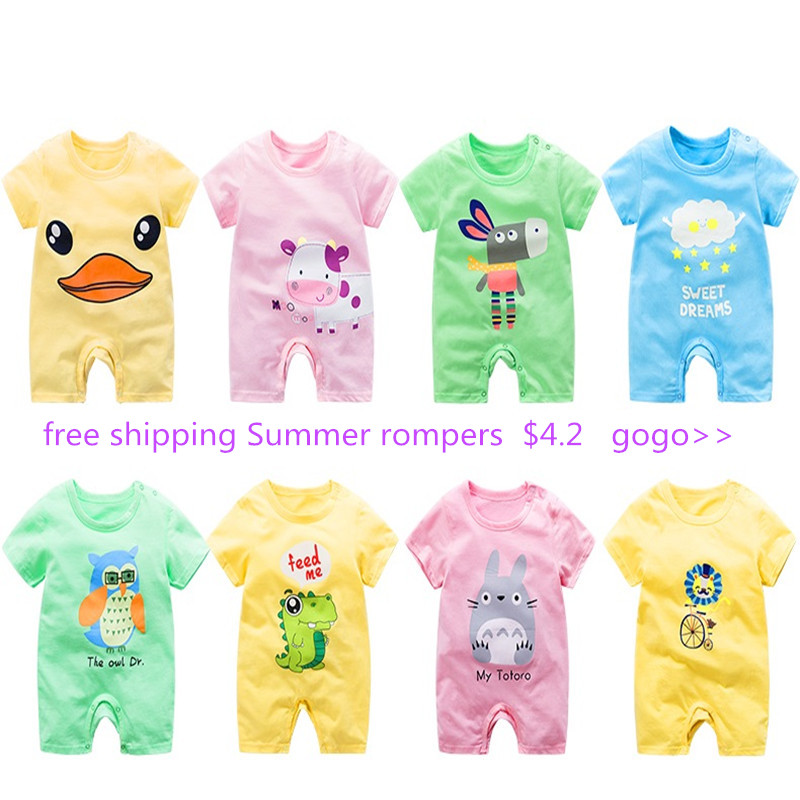HTB1QWToL4naK1RjSZFBq6AW7VXaO Newborn baby clothes 100% Cotton Long Sleeve Spring Autumn Baby Rompers Soft Infant Clothing toddler baby boy girl jumpsuits