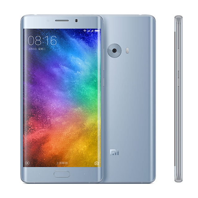 Original Xiaomi Mi Note 2 Prime 6GB RAM 128GB Mobile Phone Snapdragon 821 Quad Core 5.7inch Fingerprint ID NFC 22.56MP camera