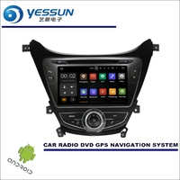 YESSUN Wince / Android Car Multimedia Navigation System For Hyundai Elantra MD 2013~2015 CD DVD GPS Player Navi Radio Stereo HD
