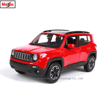 Maisto 1:24 Jeep RENEGADE Freeman simulation alloy car model crafts decoration collection toy tools gift
