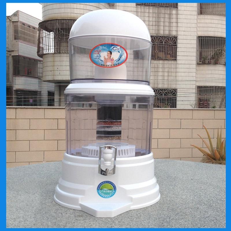 16L Straight Drink Bucket Dispenser Water Purifier Water Filter Barrels Mineral Pot Water Treatment Filter Alkaline wholesale lcd alkaline water ionizer
