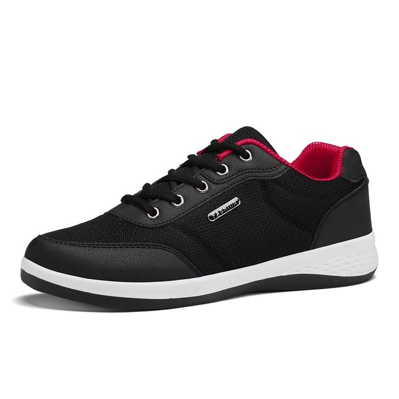 2017 Nova Luz Running Shoes For Men Respirável Esporte Ao Ar Livre Sapatos de caminhada de Verão rendas até Tênis de corrida calçados Esportivos