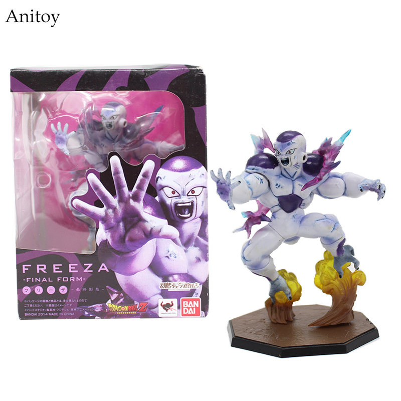 цены Free Shipping 15CM Anime Catoon Dragon Ball Combat Edition Z Freeza Freezer PVC Action Figure Collectible Toy KT3965