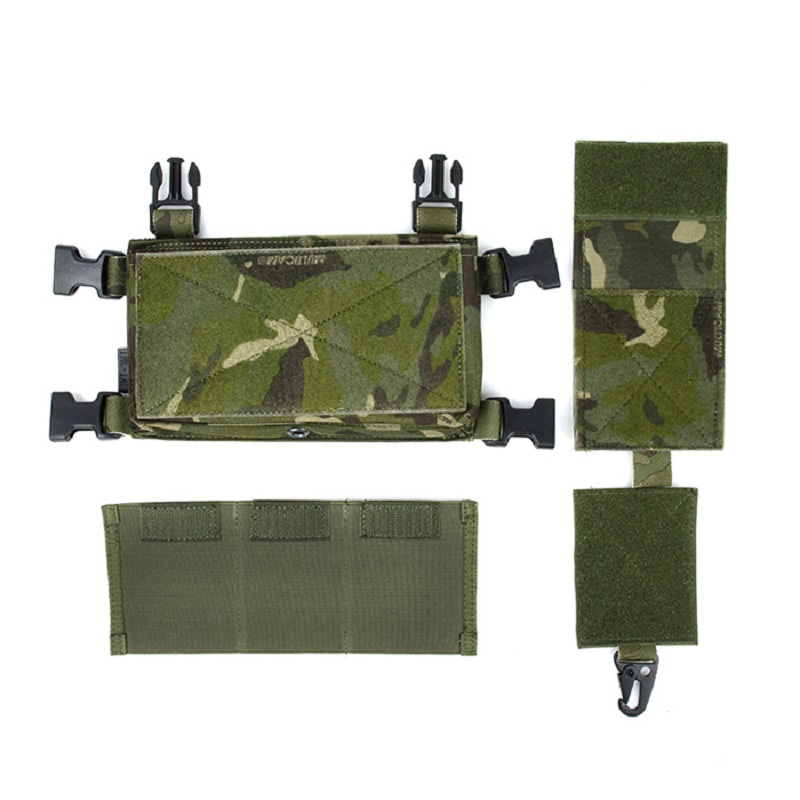 TMC3119-MTP Tactical Vest Set SS Chest Hang Combination 500D Non Reflective Cordura Fabric