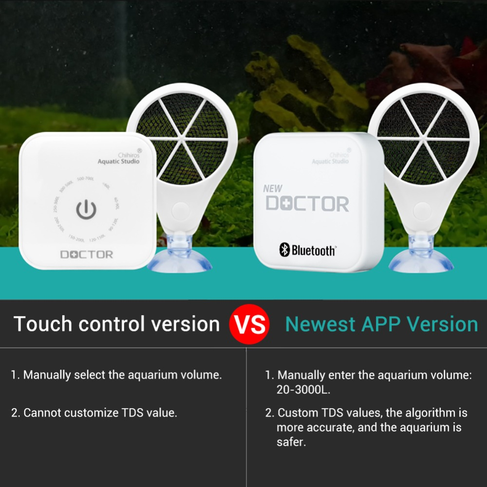Image 4 - NICREW 4th Bluetooth Chihiros Doctor 3 in 1 Aquarium Algae Cleaner Electronic Inhibit Algae Sterilizer for Plants Fish Shrimp-in Cleaning Tools from Home & Garden