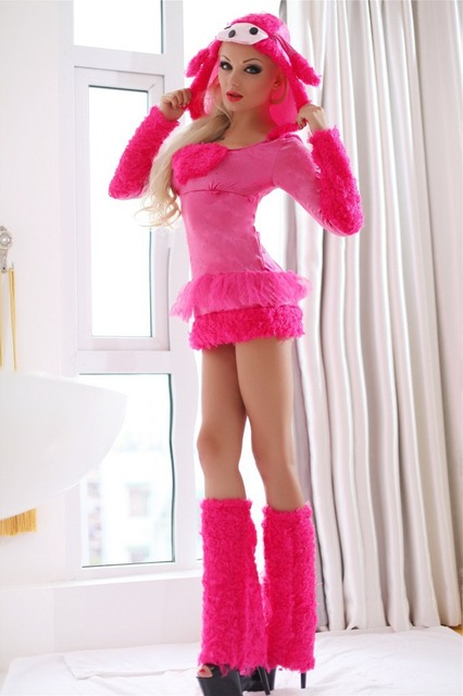 Cute Pink Puppy Adult Animal Costume Sexy Women Party Animal Costumes Halloween Cosplay Costumes Cute Carnival  sc 1 st  AliExpress.com & Cute Pink Puppy Adult Animal Costume Sexy Women Party Animal ...