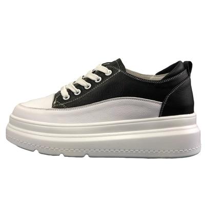 De Automne Femmes Pour Version Nouvelle En Coréenne La 1 À Blanc Augmenté 2 forme Épaisses Plate Semelles Chaussures Nature Gâteau RnqBWqd