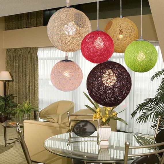 Rond holand moooi al atoire boule de lumi re pendentif for Lampe boule suspension