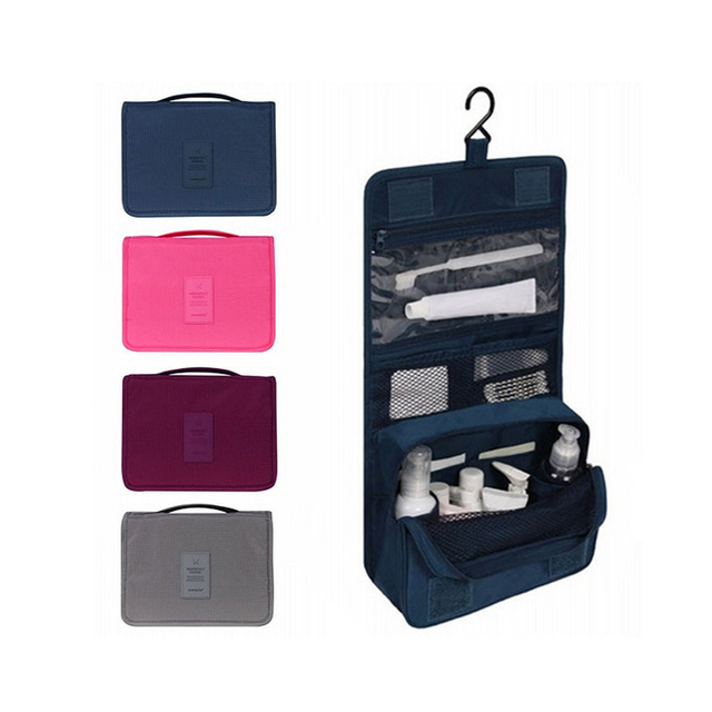 d770d4f5b Mujeres Viajan Bolsa de Cosméticos para Hombres Neceser de Aseo Colgando  Bolsas de Cosméticos A Prueba