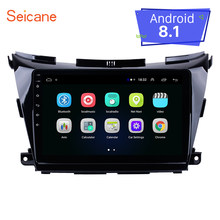 "Seicane 10,1 ""Android 8,1 para Nissan Murano NAVARA NP300 GPS coche reproductor Multimedia 2DIN Radio DVR TPMS espejo enlace wifi(China)"