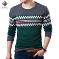 Free Shipping 2016 Men Famous Brand Autumn Sweater Casual Man Slim Fit Wool Knitted O-Neck Sweater Fashion Pullovers Hot Sale