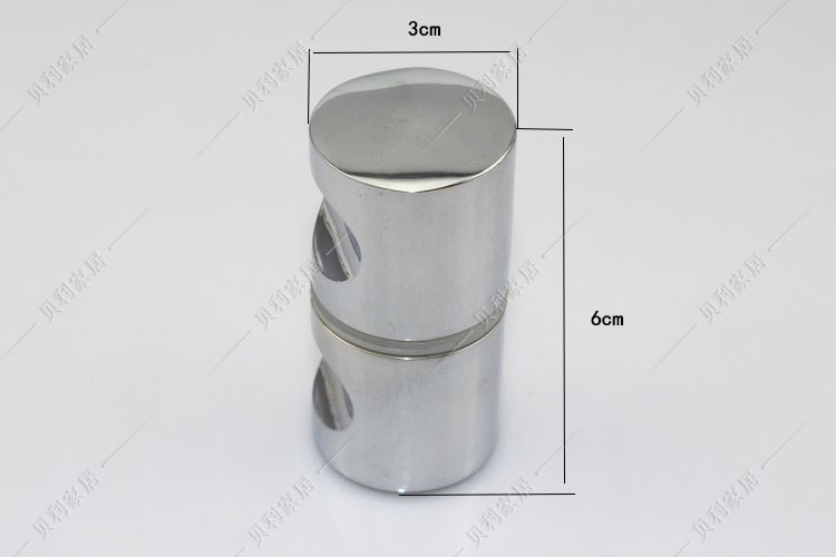 Low Price Shower Glass Door Handle Small Hole Handle Bathroom Glass