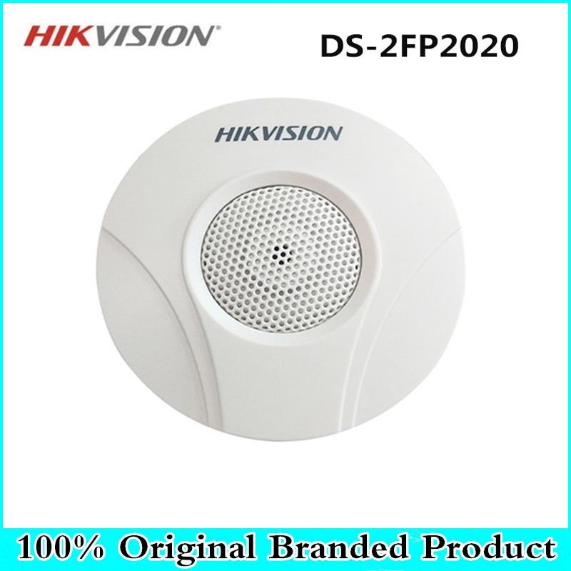 DS-2FP2020 Hikvision Original cctv Microphone MIC audio pickup for hikvision ip camera cctv camera стоимость