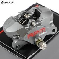 Universal Motorcycle Rear CNC RPM Brake Caliper Brake Pump Under The Double Piston Hole 84mm Small