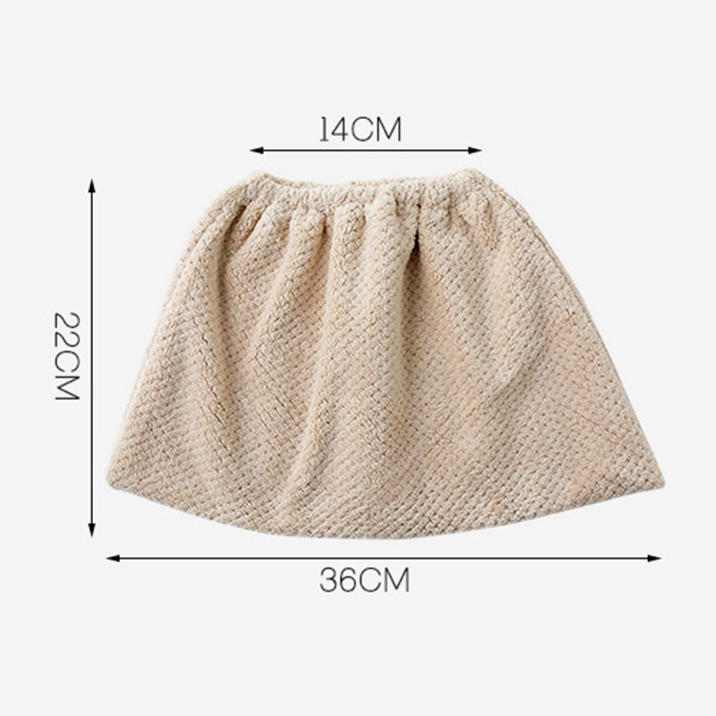 Coral Velvet Broom Cover Cloth Absorbent Mop Household Cleaning Tool Replacement Cloth 66CY(China)