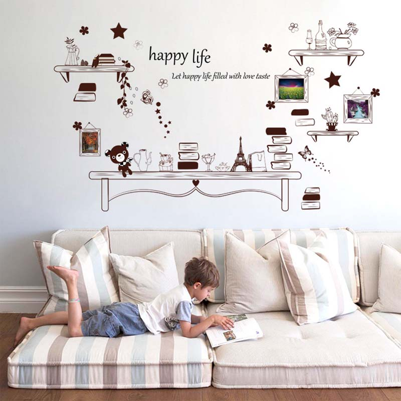 2016 new wall art household adornment wall office wall stickers home