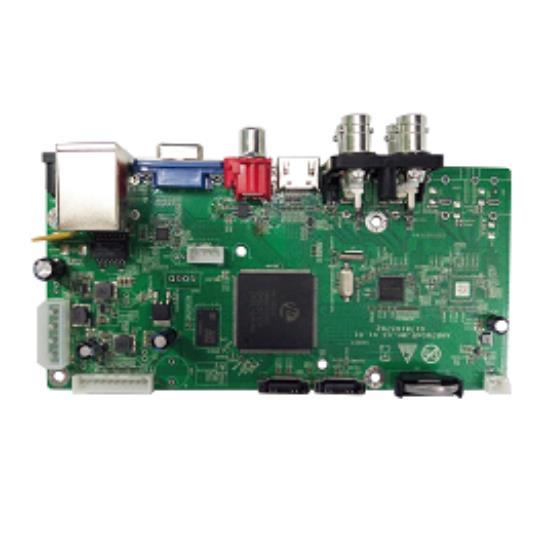 For Hess Hi3520d 3520 DVR NVR Development Board Hi3520 AV CVBS AHD NVP6134C